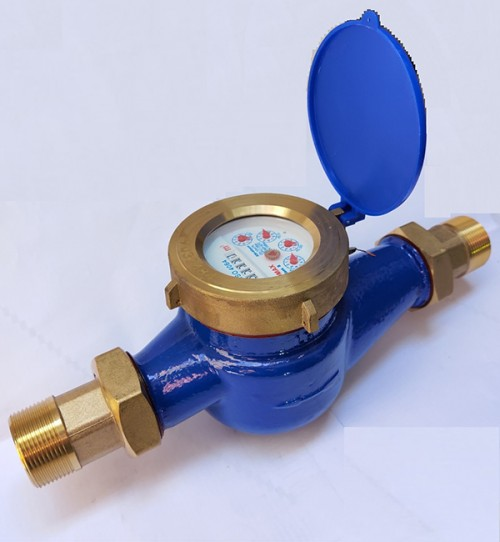 Komax water meter with DN40 threaded body