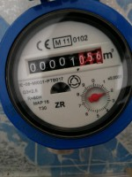 Shock when not using water, the water meter still rotates